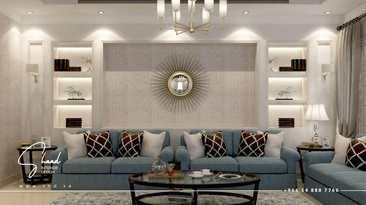 تصميم صالة منزلية