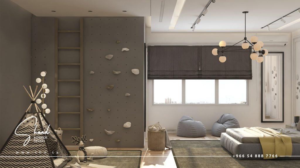 تصميم غرف نوم الأطفال
