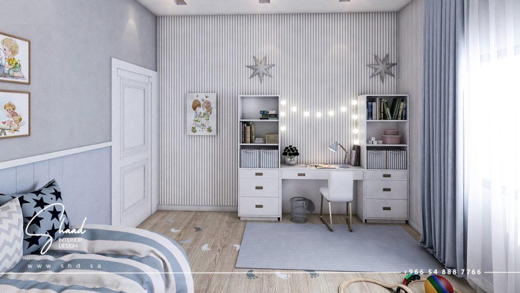 غرفة النوم أطفال