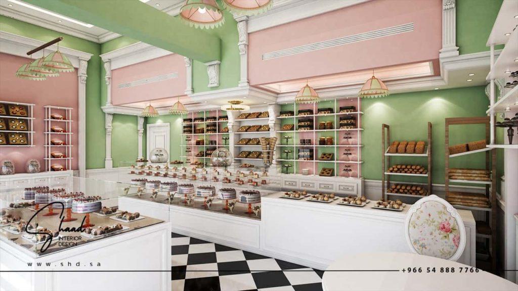 ديكور محل حلويات