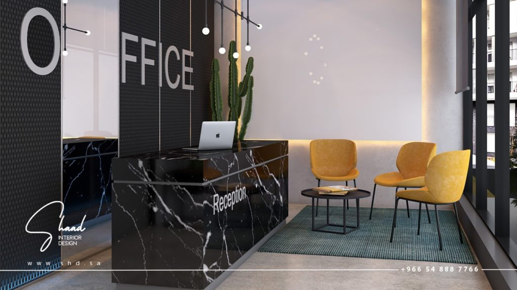 التصميم الداخلي للمكاتب