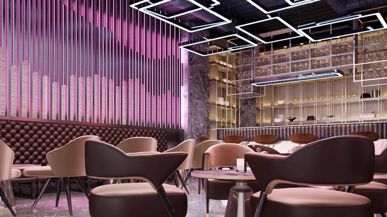 تصميم ديكور مطعم